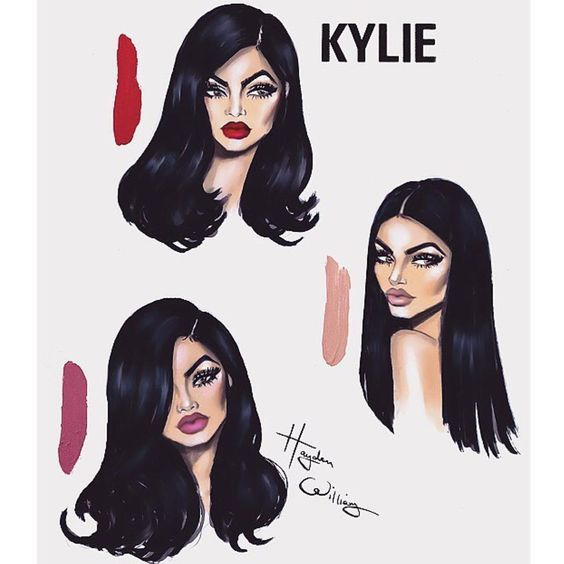 this is so cute! thank you @hayden_williams  #KYLIECOSMETICS: