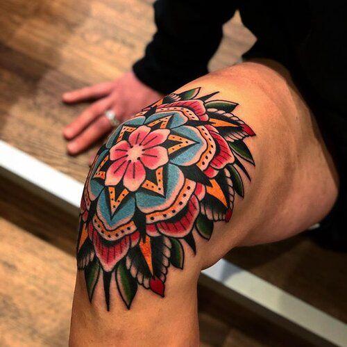 Samuele Briganti Gallery Samuele Briganti In 2020 Knee Tattoo Traditional Tattoo Sleeve Traditional Tattoo Knee