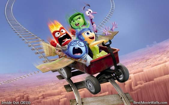 Image result for inside out roller coaster