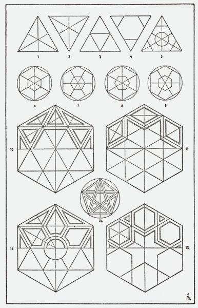 Mi premero clase es la geometría.: