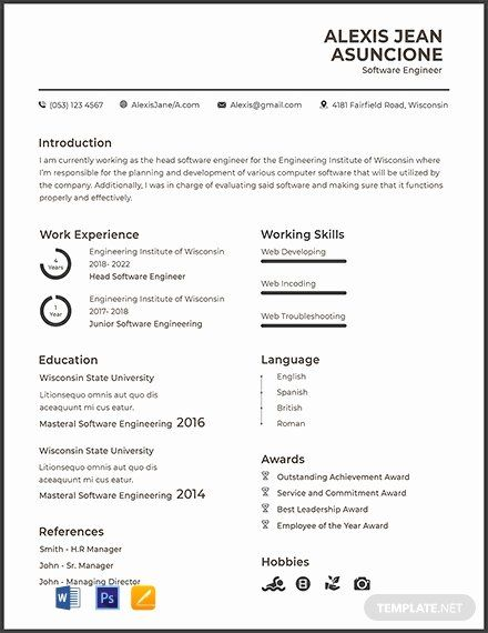 Pin On Customize Professional Resume Templates