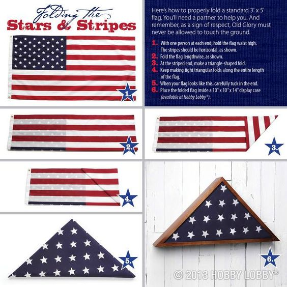 proper flag edicate