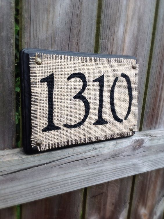 Home Address Sign Address Plaque Street Address Numbers