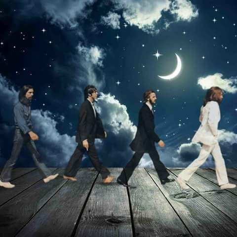 ABBEY ROAD !! THE STARS BETWEEN THE STARS !!