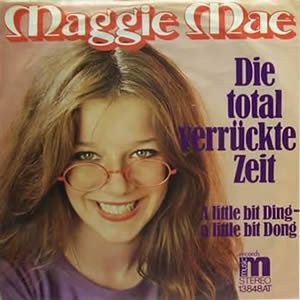 """Maggie Mae - """"Die total verrückte Zeit"""", german preselection for the Eurovision Song Contest 1975, place 7"""