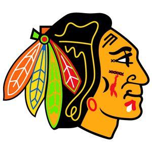 The Shaw-ified Blackhawks logo.