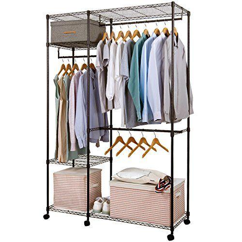 Lifewit Free Standing Closet Garment Rack Heavy Duty Clot Https