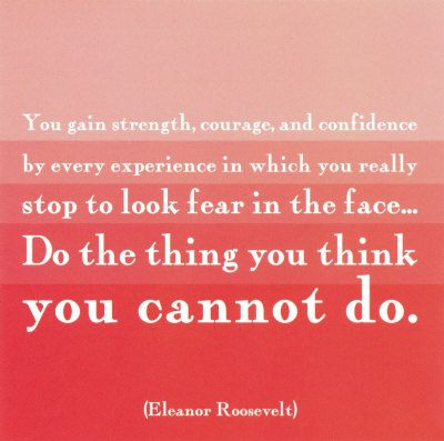 I just love Eleanor Roosevelt!