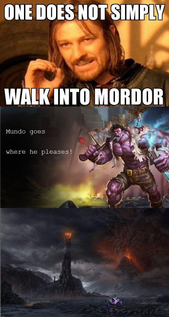 Mundo goes where he pleases!