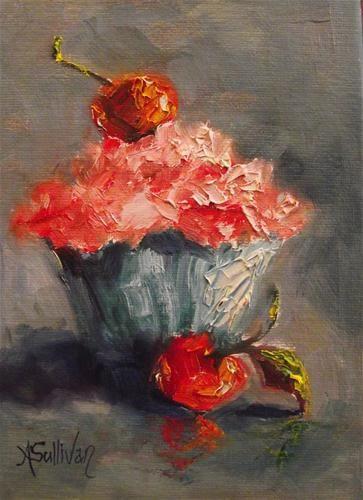 """Two For You"" - Original Fine Art for Sale - © Angela Sullivan"