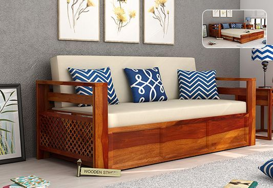 Pune In 2020 Wooden Sofa Set Living Room Sofa Wooden Living Room Furniture