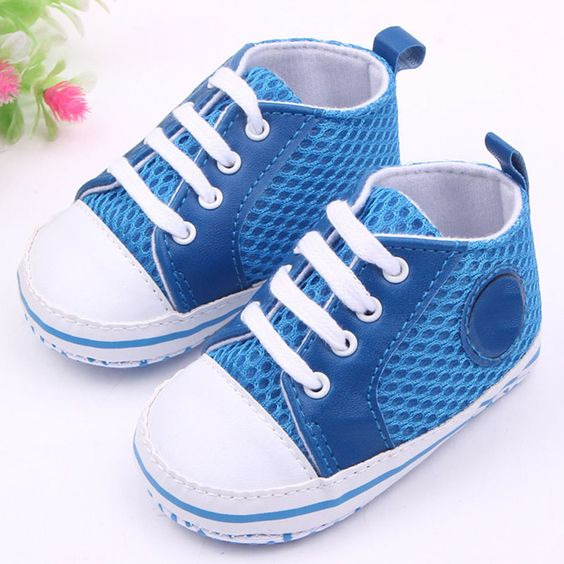 $2.41 (Buy here: http://appdeal.ru/66d1 ) Multi-Color Toddler Baby Soft Sole Crib Shoes Boy Girl Breathable Mesh Shoes 0-12 M QL for just $2.41