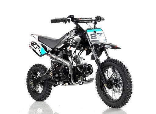 Apollo Orion Deluxe 110cc Dirt Pit Bike Semi Automatic