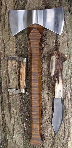 Nessmuk Trio by British Red from the Axe thread on Bushcraft UK