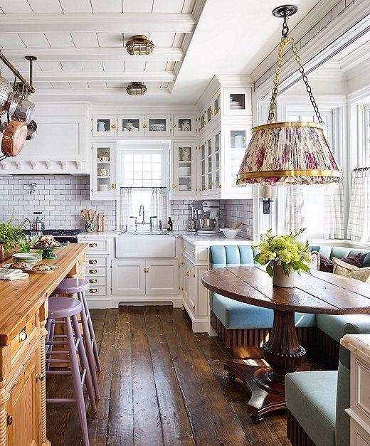 A Lovingly Restored Historic Cottage In Nova Scotia Cottage Kitchen Design Cottage Kitchens Rustic Cottage Interiors