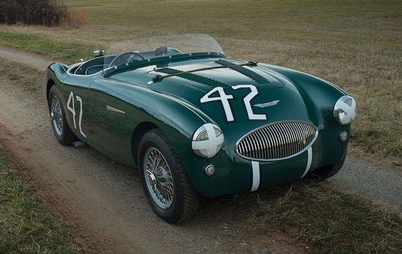 Actor Jackie Cooper's 1955 Austin-Healey 100S to cro | Hemmings Daily