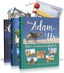 From Adam to Us by Ray and Charlene Notgrass is a one-year world history and literature course designed for students in grades five through eight. The daily lessons are written in a narrative style and richly illustrated with color photographs and maps. This package includes the two lesson books (one for each semester), a collection of primary sources, an answer key, one consumable map book, and one consumable timeline book. <a...