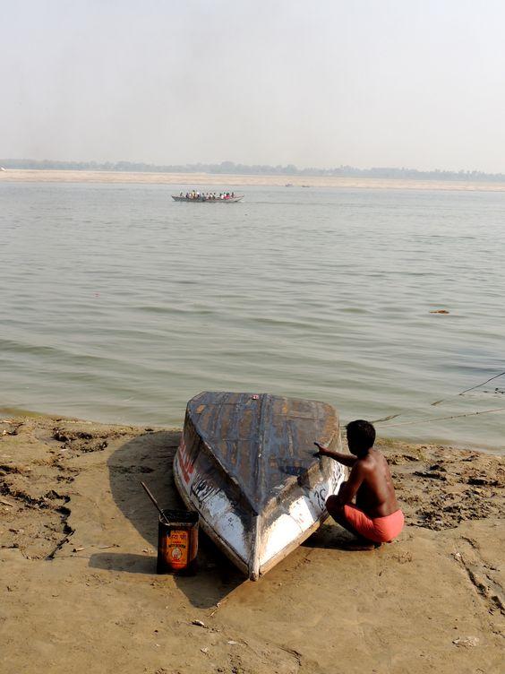 India | Boat | Gange | Travel photo