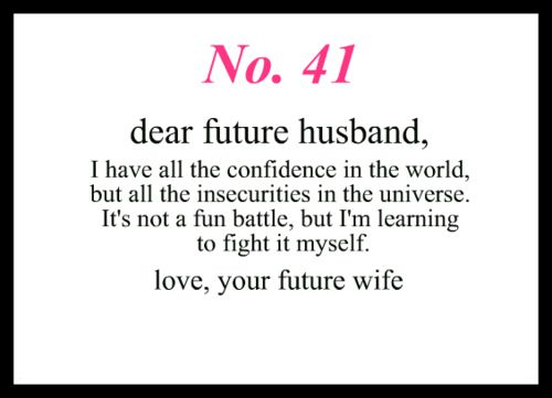 how to write a dear john letter to my husband