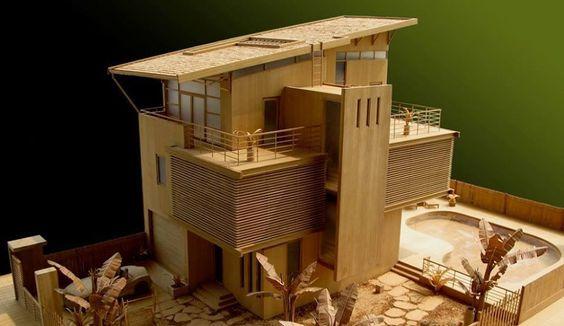 House Model by Mohin Dai Long.