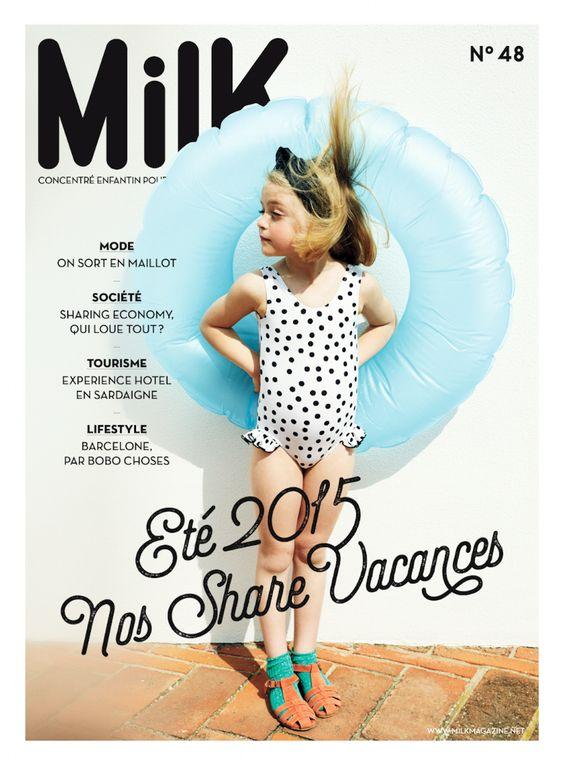 [Inspirations éditoriales] - Couverture de MilK Magazine n°48