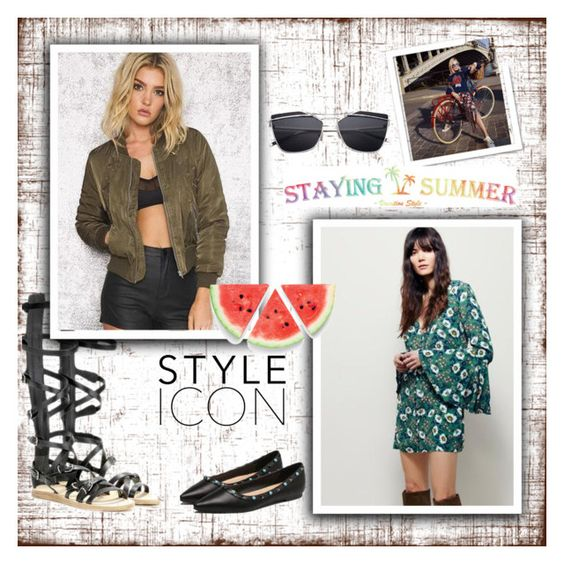 """""""Stayingsummer - 19"""" by mirecr7 ❤ liked on Polyvore featuring Burton"""