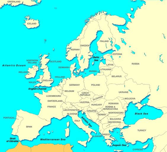 eastern and western europe Developments in europe the eastern orthodox church in the east and the since it became the basis of law in western europe and eventually the.