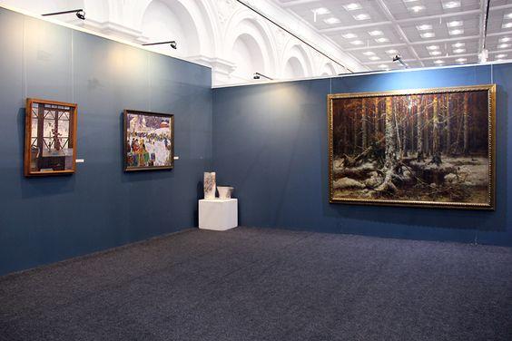 Экспозиция выставки в Музее изобразительных искусств. Фото Жени Шведы