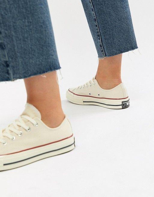 Converse Chuck '70 Ox Trainers In Cream Sneakers en 2019  Sneakers in 2019
