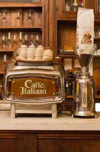 italian caffe - my favorite part of visting italy (next to gelato!)