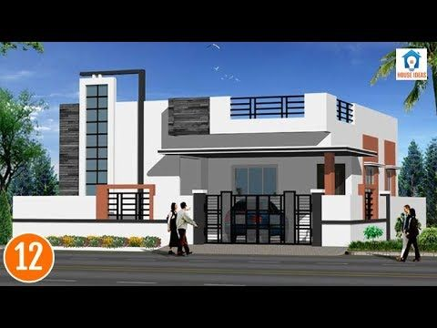 Individual Houses Modern Front Elevations Single Floor Home Designs House Elevations 02 House Front Design House Design Photos Small House Front Design
