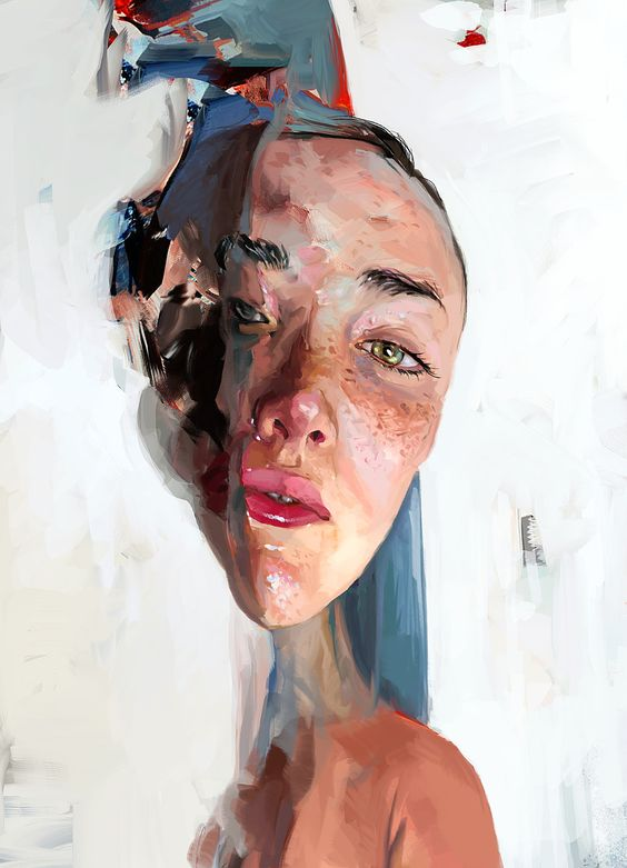 ArtStation - HeadStudyWhite, Mateja Petkovic