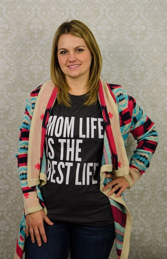 Mom's are the best. Show how much you love being a mom in SCB's comfy and super soft Graphic Tees!Made from 100% Ringspun Cotton.The Crew necks are a unisex tee. For ladies, this item fits TTS/Slightly Big.We suggest you order your normal size, unless you like a fitted shirt or are in between sizes, you will want to size down. Men, there will be a slightly fitted bicep and chest. Sizing:       &nb...