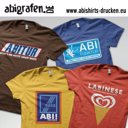 #Abishirts #drucken (#T-Shirts oder #Poloshirts) bei abishirts-drucken.eu