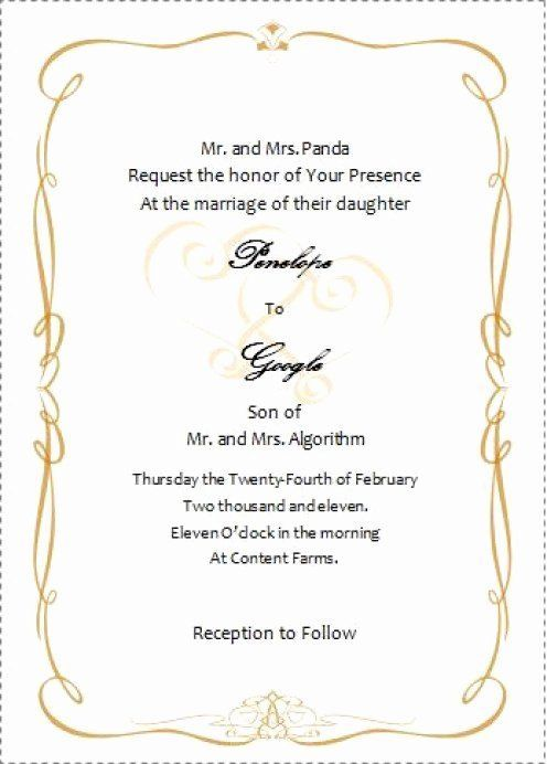 Wedding Invitations Wording Wedding Invitations Weddinginvitations In 2020 Invitation Templates Word Free Wedding Invitation Templates Wedding Invitation Templates