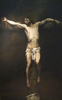 Crucifixion - Nicolas Aime Morot: