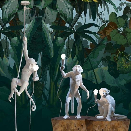 lampe singe suspendu couloir de canards pinterest singe et lampes. Black Bedroom Furniture Sets. Home Design Ideas