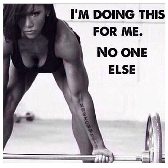 Do it for yourself! #gymtimegtd: