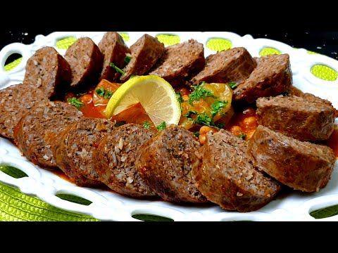 مصران محشي على طريقتي حشو طري و بنين و مريقة ثقيلة ما تتشبعش Youtube Food Beef Meatloaf