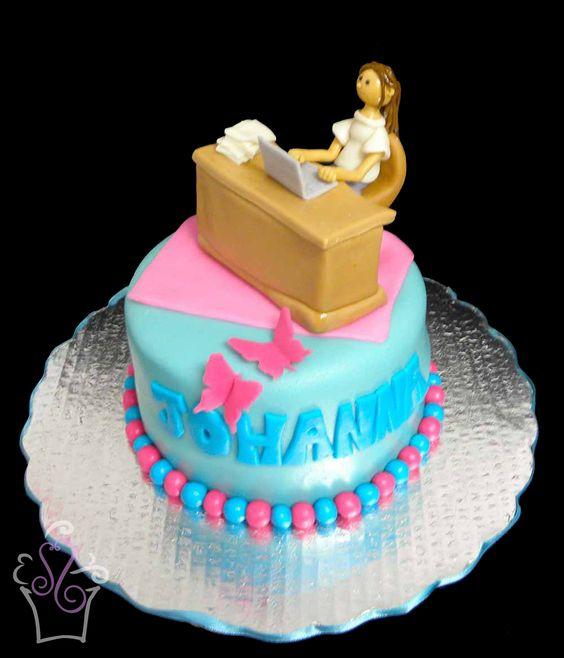 Cake fondant, Desk office and Fondant on Pinterest
