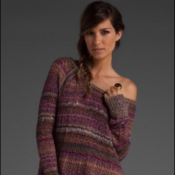 Free People Lost In the Forest Sweater Beautiful free people sweater seen on Violet Harmon on American Horror Story. Open to trades for other free people items. Free People Sweaters Crew & Scoop Necks