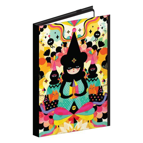 Magical Friends by Muxxi Hardcover Tablet Case #Hardcovertabletcase #tabletcase #ipadcase #powisparker #powisicase #powiscustom #customartwork #customart #customprinted #customipadcase #customizedipadcase #ipadair #ipadmini
