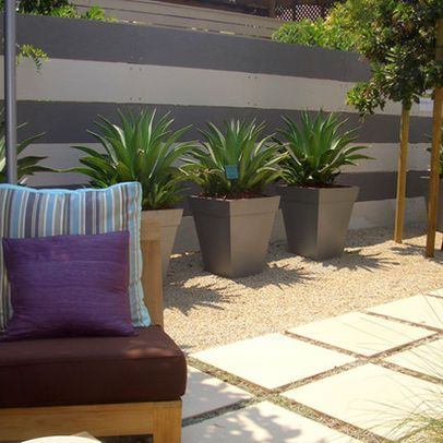 Garden design inspiration permeable paving house perms for Low maintenance potted plants