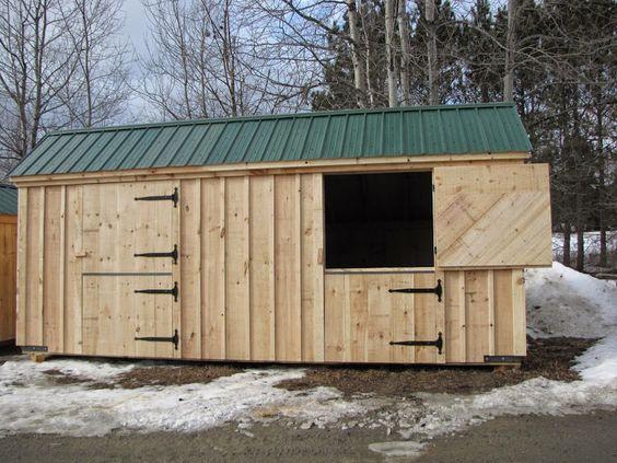 10x20 stall barn available as kits 2 people 20 hours for 2 stall horse barn kits
