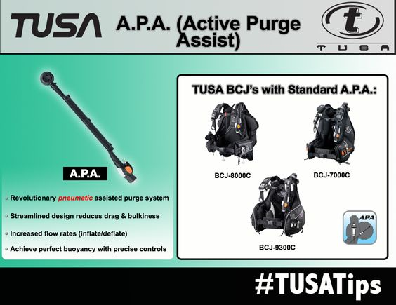 TUSA A.P.A. (Active Purge Assist)