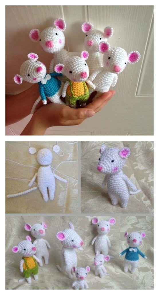 Puppen häkeln - Mini-Puppen häkeln--Amigurumi | 1024x555