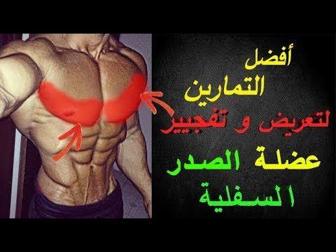 فجر عضلة الصدر السفلية و ضخمها بهده التمارين الرالئعة في أقل وقت ممكن Lower Chest Workout Youtube Portrait Tattoo Youtube Portrait