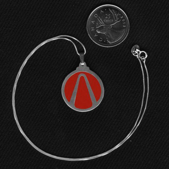 Sterling Silver Borderlands 2 Necklace. On Etsy for $42.