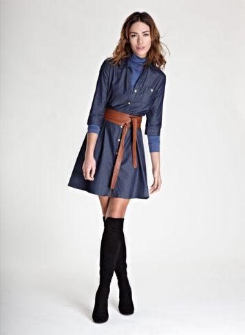 Alexa Shirt Dress | Dress | Baukjen