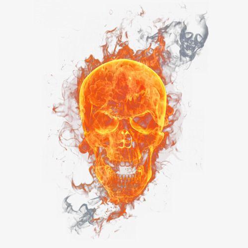 Flame Skull Skull Fire Fire Drawing Skulls Drawing